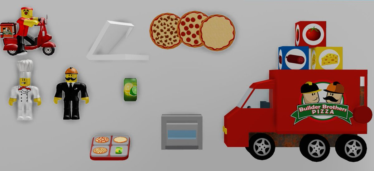 Dued1 On Twitter A Pizza Place Toy Set Idea I Sent To Roblox Hopefully It Becomes A Reality