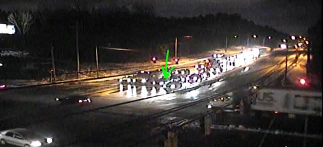 Accident - Old Statesville Rd (NC 115) at Harris Blvd, NB left turn lane blocked #clttraffic #clt<br>http://pic.twitter.com/8xWtaPFAit