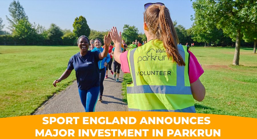 Were excited to announce a £3m investment from @Sport_England to support the creation of 200 new parkruns in England over 3 years. Specifically, to promote participation amongst females and lower socioeconomic groups. Read more 👉🏿parkrun.me/p60kd 🌳 #loveparkrun