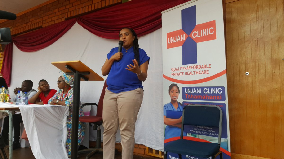 The clinics help alleviate the pressure on government run clinics in South African communities by offering primary healthcare services at very accessible rates. To find out more about @UnjaniClinics, visit their website at http://www.unjaniclinic.co.za