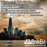 Image for the Tweet beginning: BrikBit #ICO is ongoing and