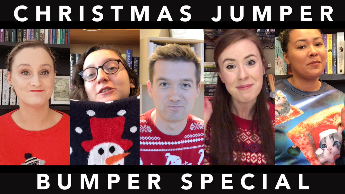 Its our last vlog of the year! Join @iwilltweet @Oh_My_Naomi @RhiannonTripp @AislingFlynn & @eggfrieddog as they share the one book theyd like to receive this Christmas and the one theyd like to gift. Merry Christmas from all of us to all of you.