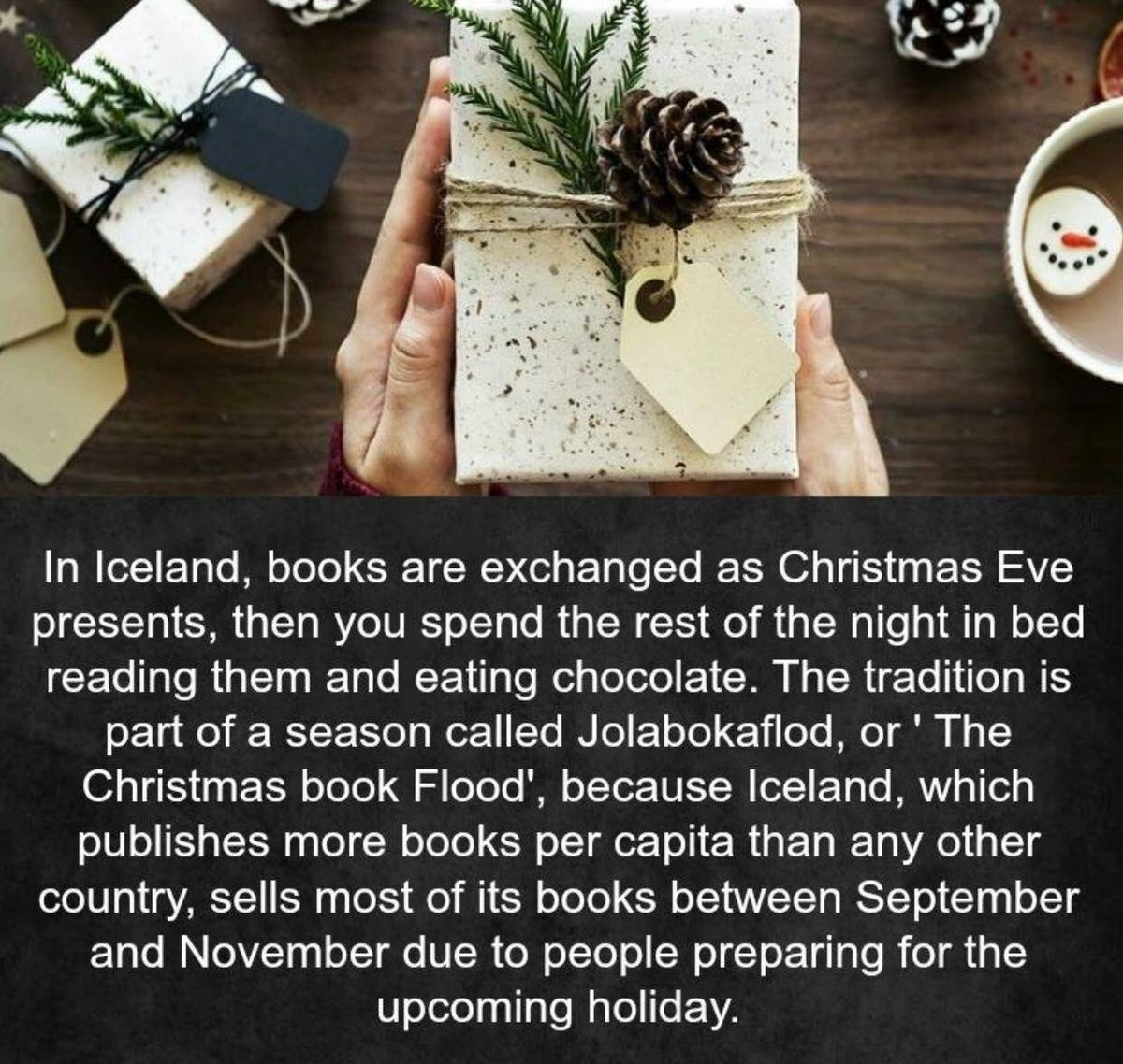 Who's ready to start this tradition? #booklover #booklovers #bookloversclub #bookloversunite #booklover #bookloverscoffee #bookloversday #bookloverproblems #booklovergift #booklovergifts #bookloversdream #bookgifts #gifts #giftstore #giftideas #giftsph #giftshop #gifts<br>http://pic.twitter.com/UR0fs0n1ia
