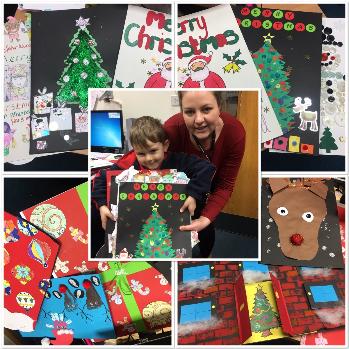 Huge Christmas Card.Brighter Futures On Twitter A Huge Thank You To The Pupils Of