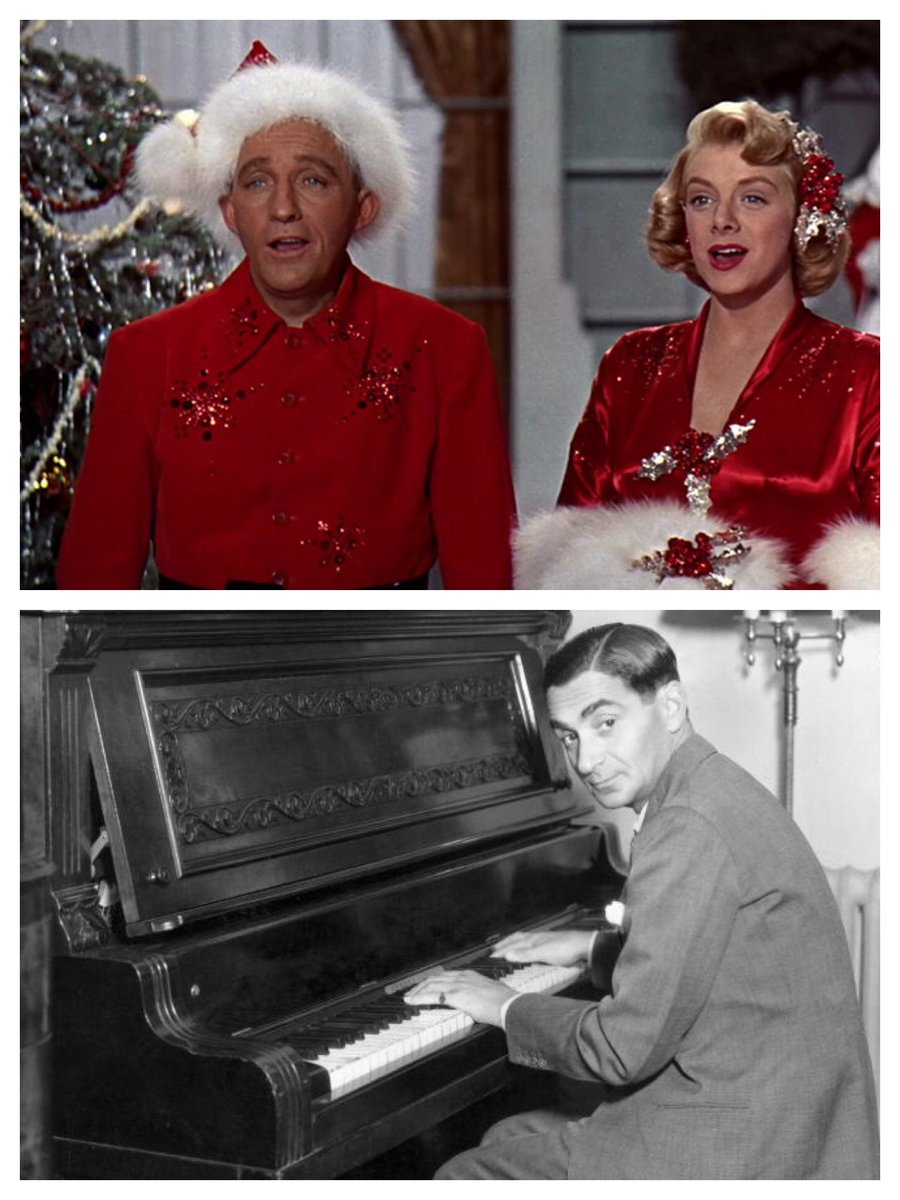 """How did Jewish Irving Berlin write the top Xmas song of all time? """"As an American,"""" he said. @TCM #ChristmasInTheMoviespic.twitter.com/m8sd3Adngs"""