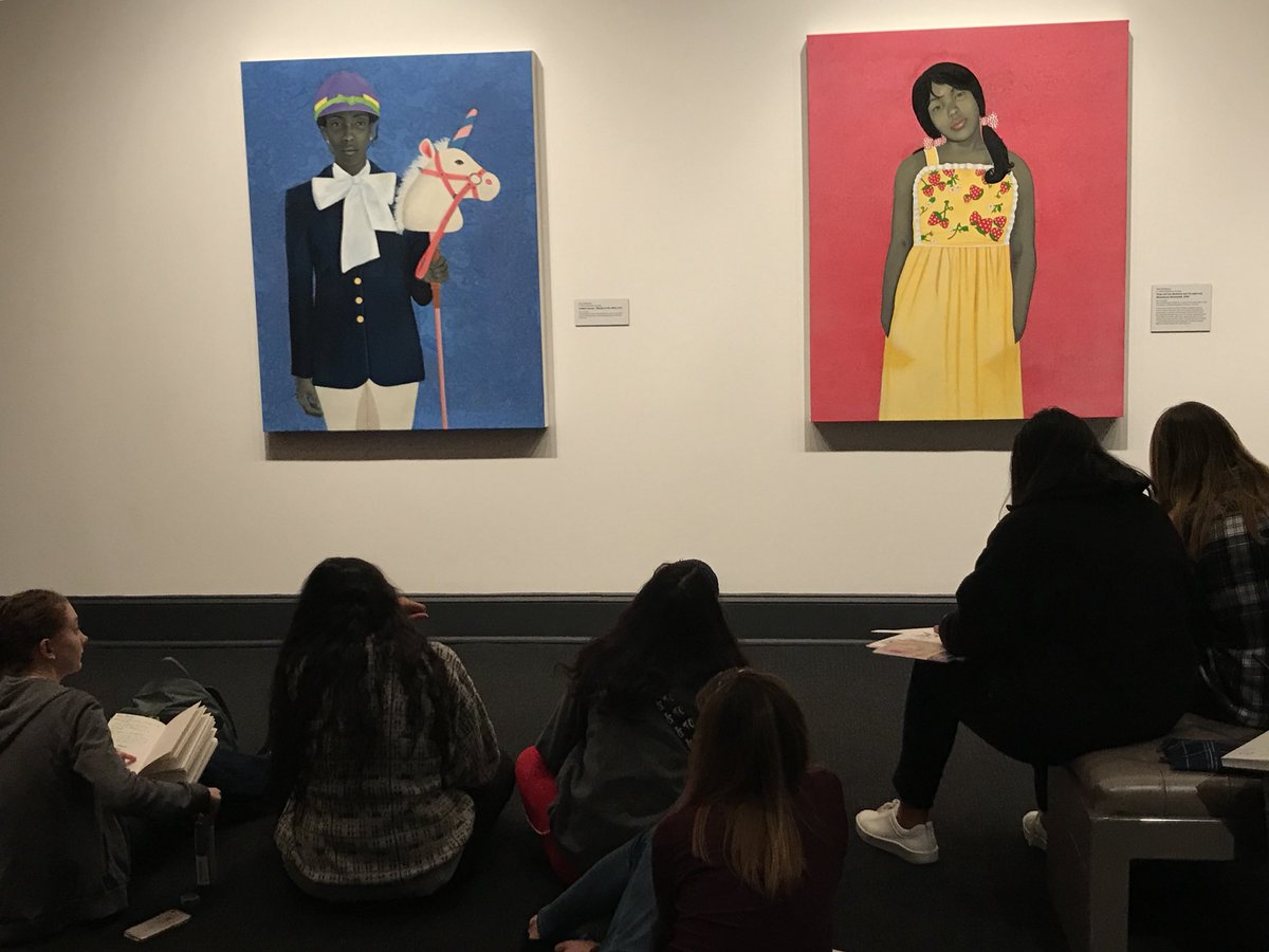 Today's field trip has so far introduced Art 4 &amp; AP Studio students to Ambreen Butt, a Pakistani-American artsy and Amy Sherald all @ NMWA <a target='_blank' href='https://t.co/MAmlSAfCjd'>https://t.co/MAmlSAfCjd</a>