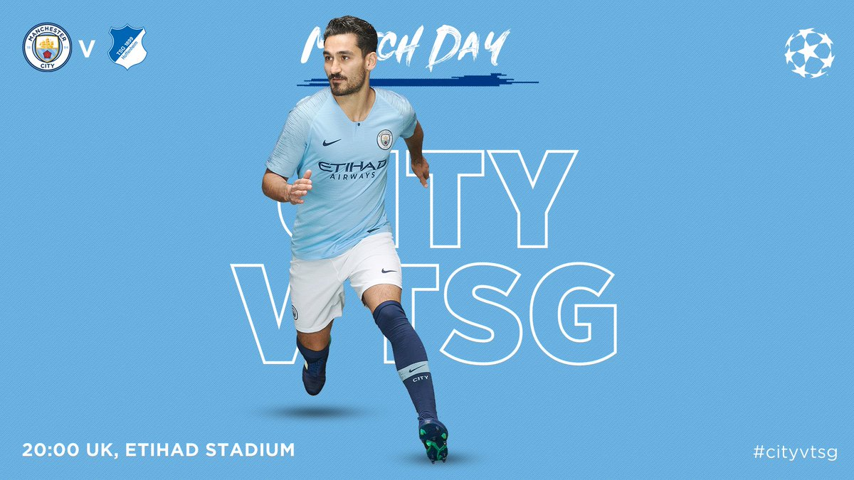 Come on, City! 🔵