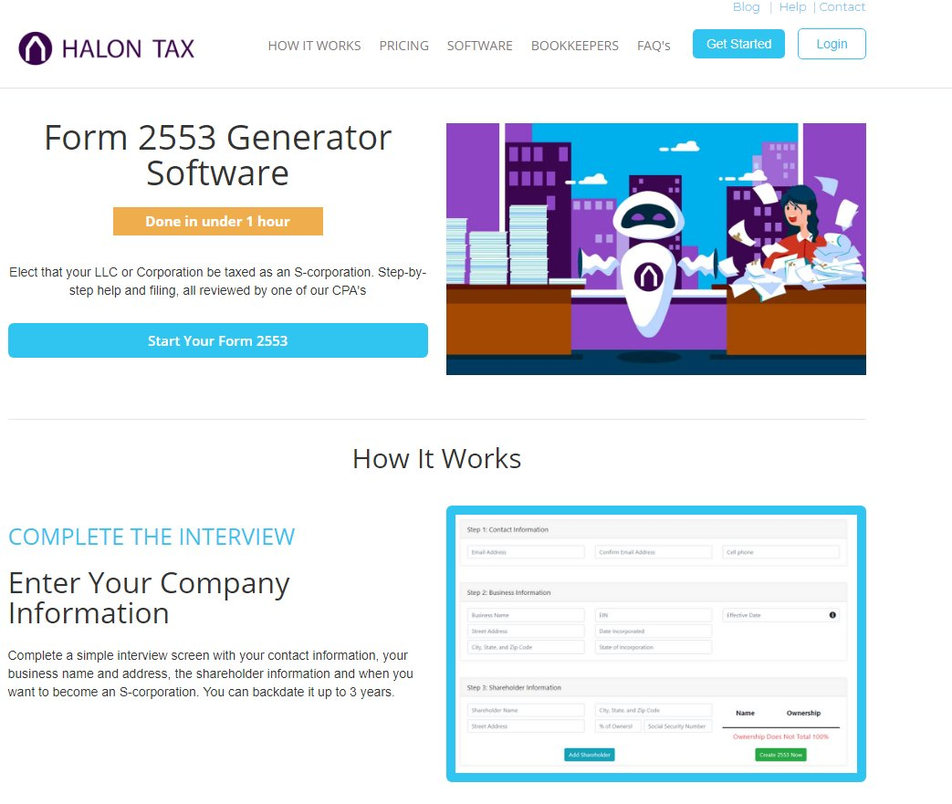 "Form 2553 halon tax on twitter: ""form 2553 converts your llc or"