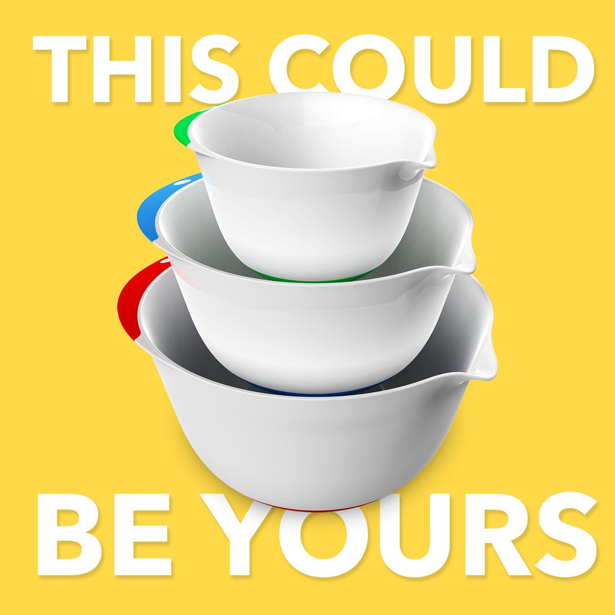 Vremi's Winter of Deals is bowling forward...see what we did there...thank you. So sign up for a chance to get yourself a mixing bowl set or a great discount on a mixing bowl set. Give it a shot, a winner may very well be you!  https://t.co/Ghee8c5hU4 https://t.co/mfLfgOPlfx