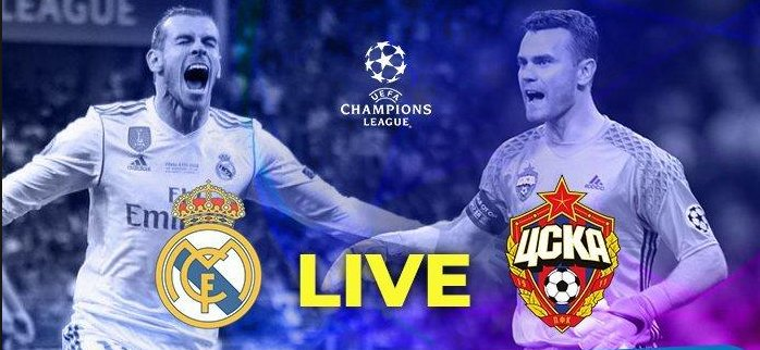 LIVE STREAMING UEFA Champions League: Real Madrid Vs CSKA Moscow Watch Now To Live Stream : https://tinyurl.com/ycohoet3  #ChampionsLeague #ChampionsLeagueNoEIPlus #championsleaguehandball #UefaChampionsLeague  #RealMadrid #realmadridmelilla #realmadridvalencia #CSKA #Moscow