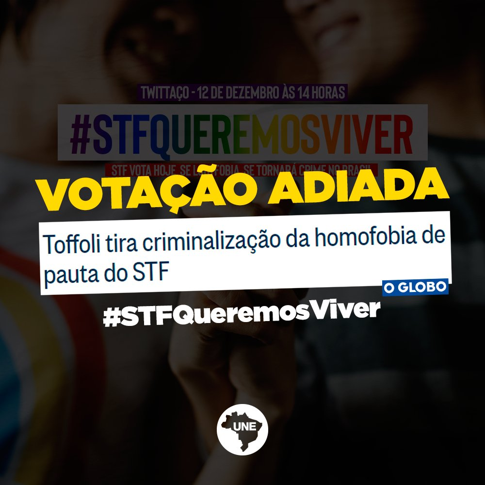 França, a Áustria, a Holanda, Dinamarca e Suíça já têm um lei específica para os crimes de homofobia. Enquanto isso, no Brasil... https://t.co/Mn66YwiPHr