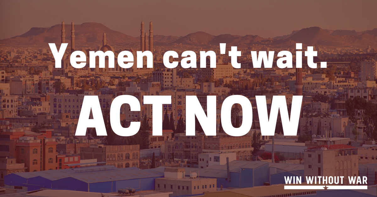 This past month has been the deadliest month to date in the war in #Yemen. Today the Senate will vote on #SJRes54 to end U.S. military support for this brutal war. Call now and demand your Senators vote to stop helping Saudi Arabia starve Yemen! buff.ly/2QrIecd