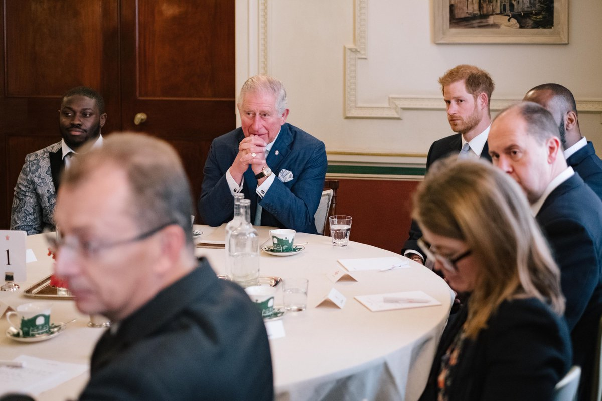 Today's discussion was part of The @PrincesTrust ongoing work to help disadvantaged and vulnerable young people in light of the increased levels of violent crime.