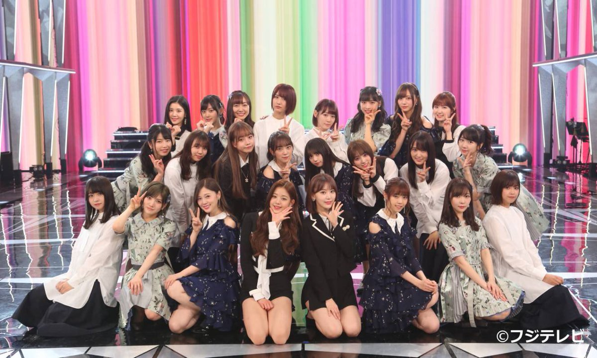 HKT48's photo on #FNS歌謡祭