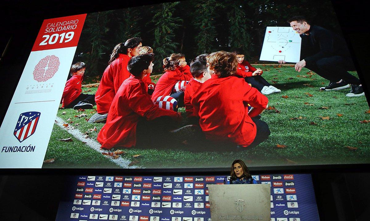 Calendario Atletico Madrid.Atletico De Madrid On Twitter Today We Presented The