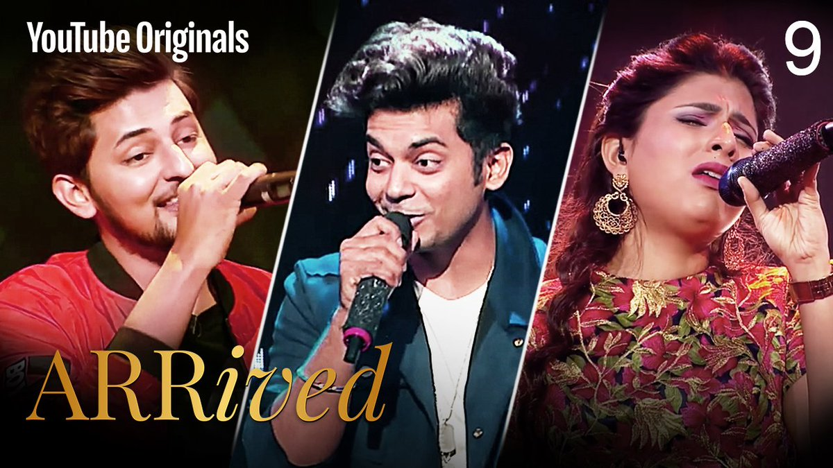 Music breaks all barriers, it's great to see how far the contestants have come on the #ARRivedSeries  @DarshanRavalDZ   If you're in India: https://t.co/9diHJFKy0i If you're outside India: https://t.co/ioMxgpH3sM  @ClintonCerejo @singer_shaan @VidyaVox  @MyQyuki #YouTubeOriginals