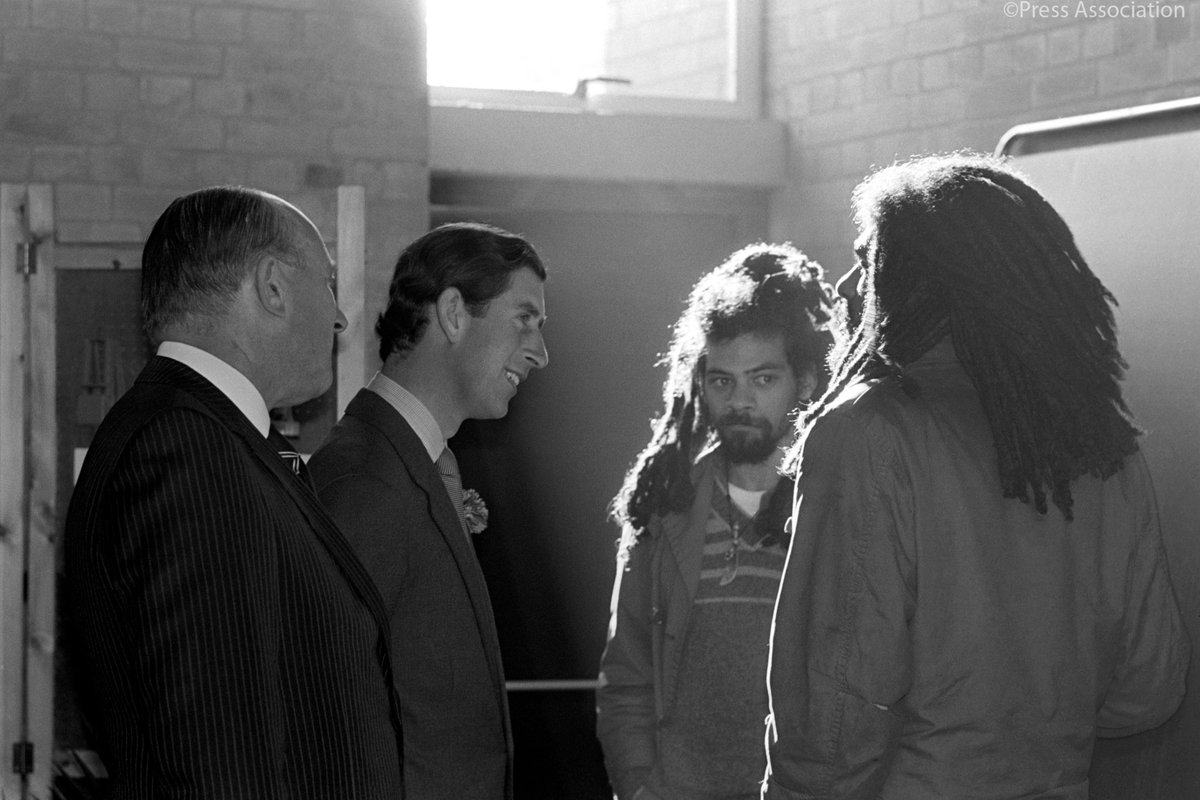 The Prince of Wales set up @PrincesTrust in 1976 following social unrest and high levels of youth unemployment. The charity's business start-up programme launched in 1983 following conversations with young people in the aftermath of the Brixton and Toxteth riots.