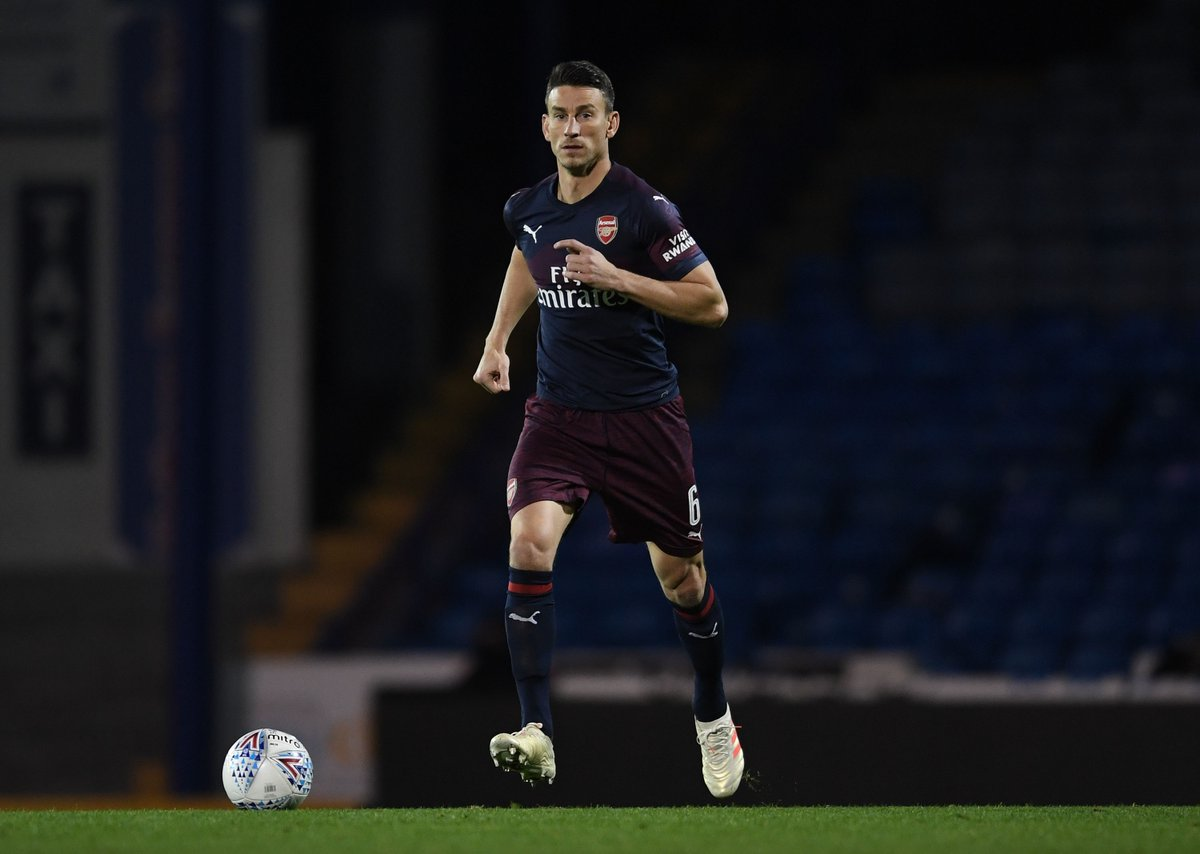 BREAKING: Unai Emery confirms Laurent Koscielny will make first start since May in Arsenal's Europa League match against Qarabag on Thursday. #SSN