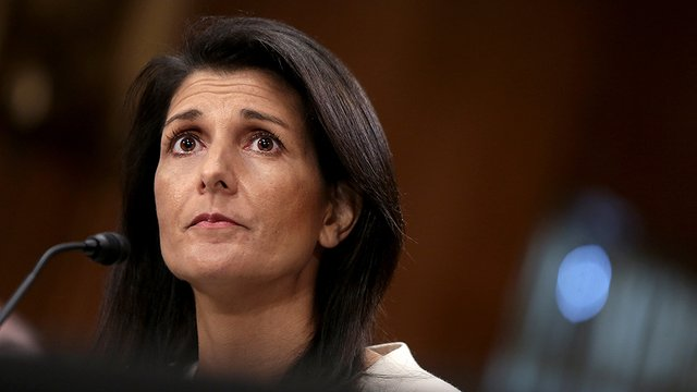 Nikki Haley: &quot;We need to have a serious, hard talk with the Saudis&quot;  http:// hill.cm/N8zCAz4  &nbsp;  <br>http://pic.twitter.com/xgEg1N2uyT