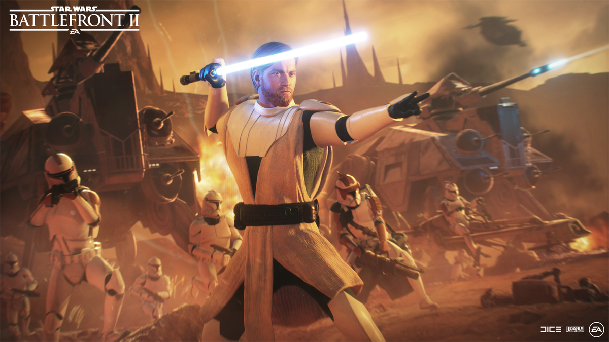The December update for #StarWarsBattlefrontII is live on all platforms! For a full list of changes, see the release notes, here:  https:// battlefront-forums.ea.com/discussion/124 603/community-transmission-december-update-2019-awaits &nbsp; … <br>http://pic.twitter.com/HwNYJA1bIA