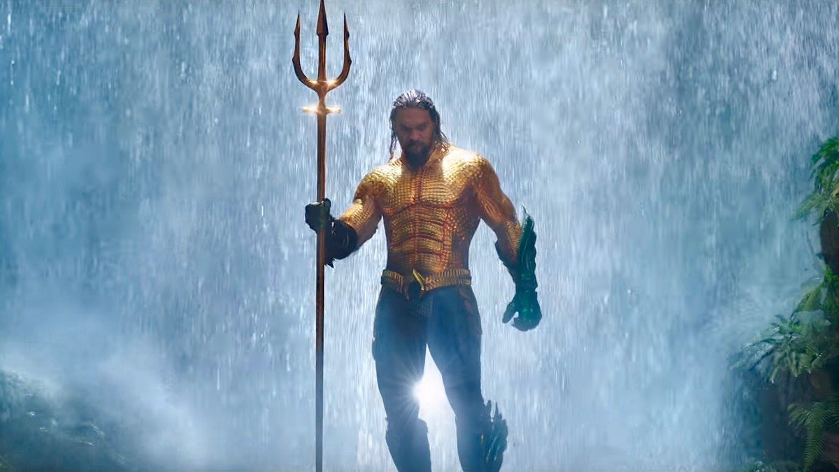 Few films embrace their crazy comicbook roots as wholeheartedly as #Aquaman. Mad fun is what it is. Silly in the best best and really just insanely spectacular. A DC movie in a league of its own, and absolutely epic at the Odeon BFI IMAX. Fintastic!