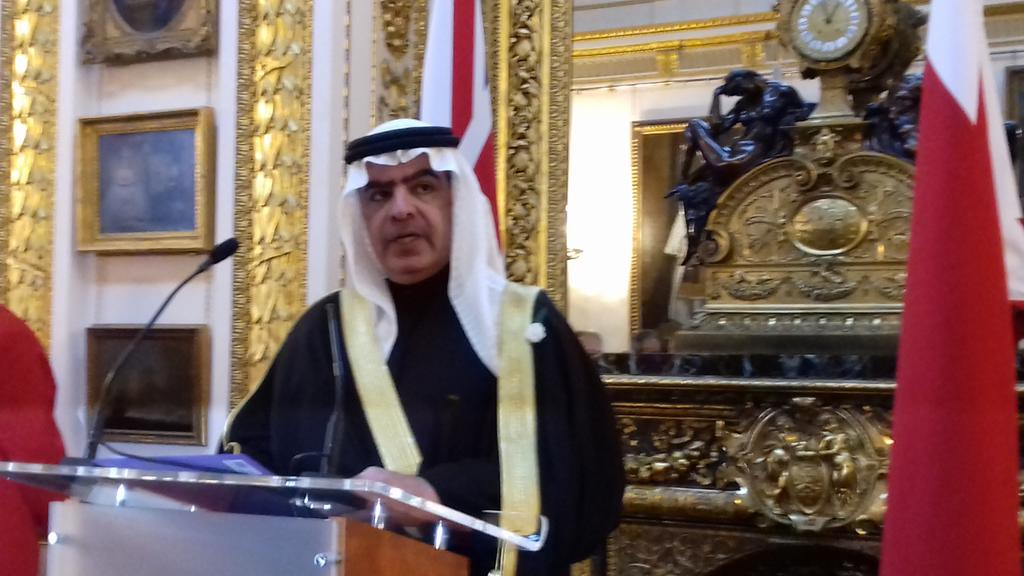 test Twitter Media - Shukran @fawaz_alkhalifa for a taste of #Bahrain at your National Day & warm words of friendship in uncertain times https://t.co/uT1Q7YnCDK