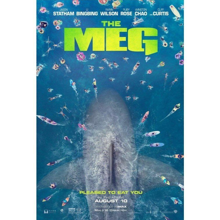 Simple but effective new #MoviePoster for #TheMeg ! <br>http://pic.twitter.com/qxSVT3gMwS