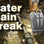 We are making #emergency repairs to a water #mainbreak on Nathan Hale Dr in #Norwalk. House numbers 9-20 along with 2 fire hydrants will be without #water until approximately 3:30pm today. @RowaytonFire @norwalkctfire @NorwalkCtPD