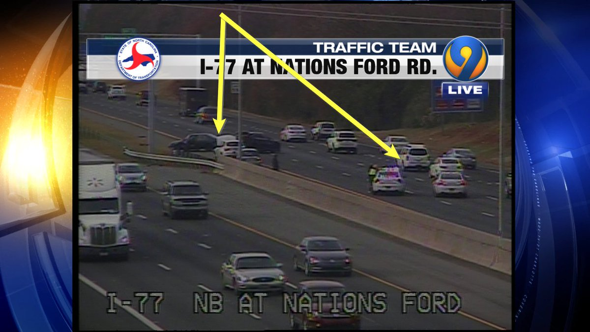 I 77 Ford >> Traffic Team 9 On Twitter Accident I 77 Sb At Nations