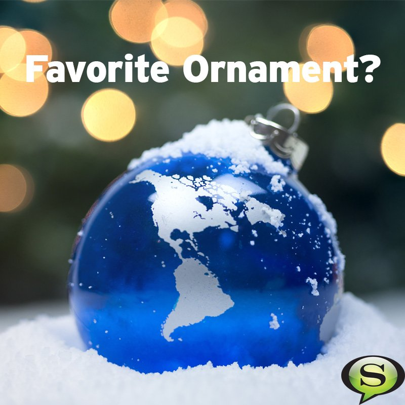 What's your favorite Christmas ornament or decoration? Snap a pic and share in the comments below! https://t.co/TF2w1xpilN
