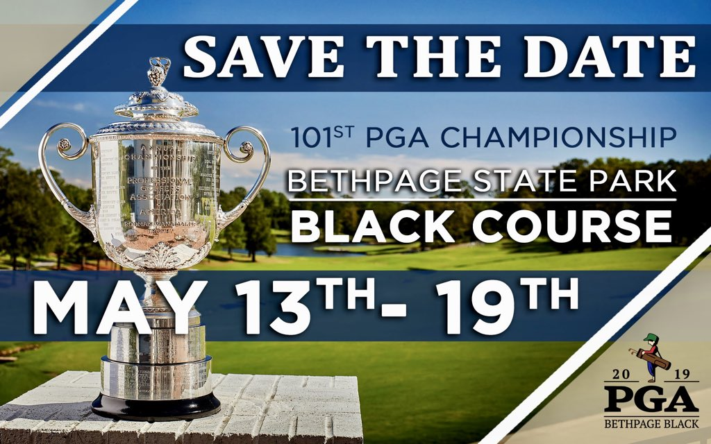 SAVE THE DATE Don't forget to add the #PGAChamp to your tournament calendars at your clubs as you may want to avoid scheduling conflicts that week!   #metpga #weplay #bethpage #bethpageblack #pga #pgatour #metsection<br>http://pic.twitter.com/Ou307LsISi