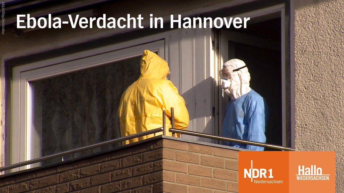 In einem Mehrfamilienhaus im hannoverschen Stadtteil Burg gibt es einen #Ebola-Verdacht.