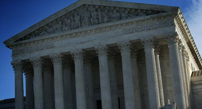 US Supreme Court Rejects State Efforts To Block Abortion Funding In this file photo taken on January 08, 2015, an exterior view of the US Supreme Court in Washington, DC. The US Supreme Court on...  https:// is.gd/JIuFCW  &nbsp;  <br>http://pic.twitter.com/fgCHWGIe5e