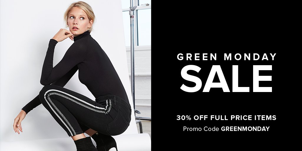 It's the last day to shop our #GreenMonday sale. Get 30% off all new things with code GREENMONDAY. A sale this good won't happen again for a while. Shop now! https://t.co/XMB380cm9t https://t.co/VwhAyXDdxP