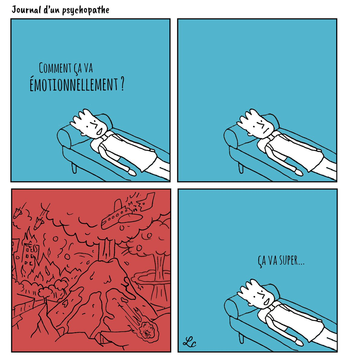 Journal Dun Psychopathe On Twitter Normal Asperger Autisme