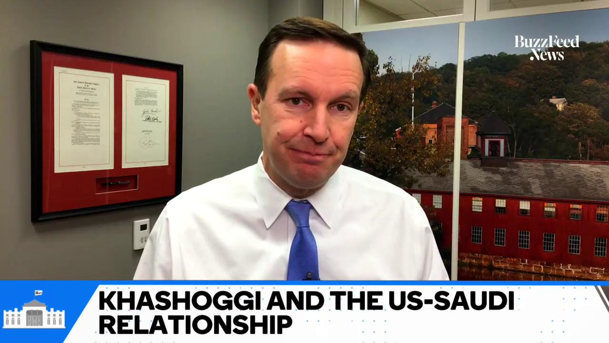 Sen. @ChrisMurphyCT discusses how the murder of Jamal Khashoggi did —and didnt —affect the potential passing of a resolution that will remove US support from the Saudi war in Yemen