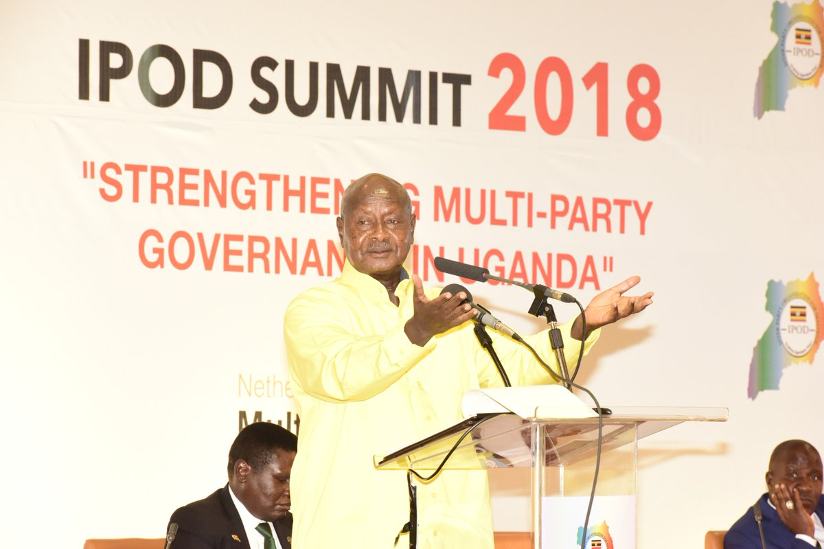 Attended the Inter-Party Organization for Dialogue (IPOD) Summit at Speke Resort, Munyonyo. The grouping is for parties with representation in Parliament. Dialogue is the beginning of democracy and I am glad to be at this function. I always welcome any opportunity for dialogue.
