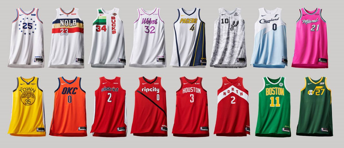 Coca Larva del moscardón Distante  NBA x NIKE EARNED EDITION JERSEYS