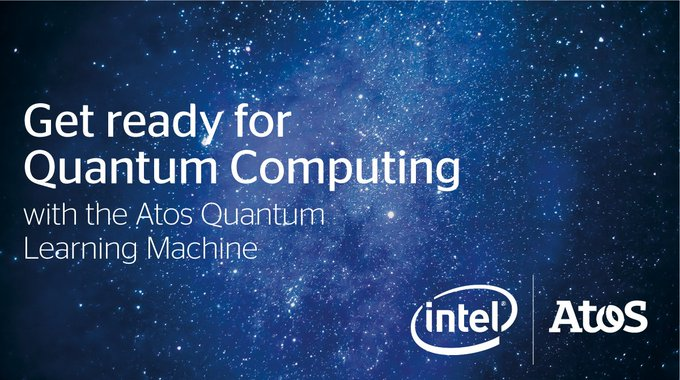 The Atos Quantum Learning Machine is the world's first commercialised #quantum learning...