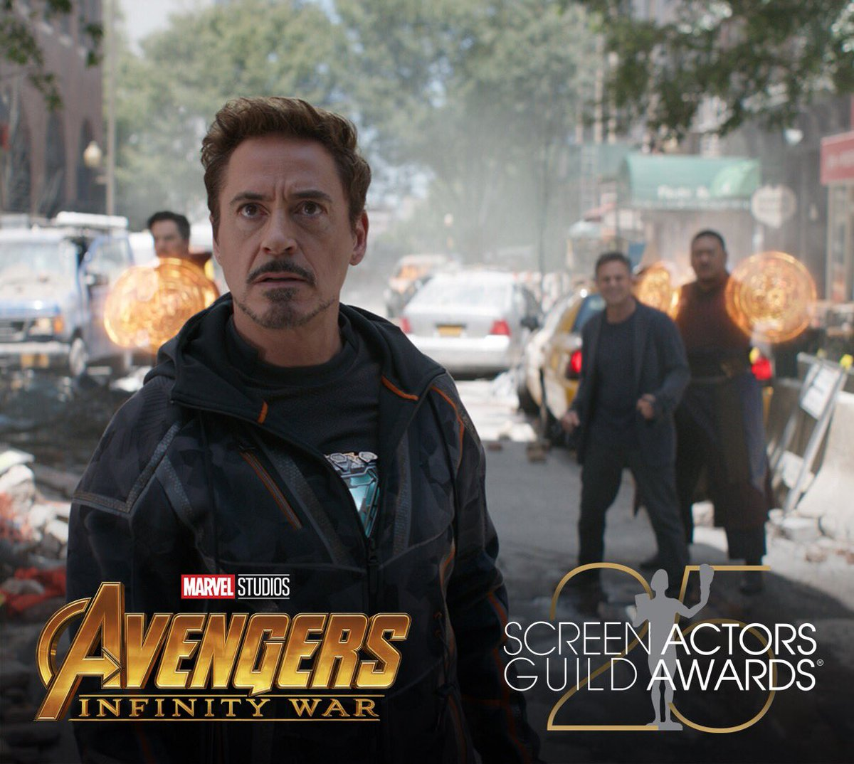 Congratulations to Marvel Studios' Avengers #InfinityWar & #AntManandTheWasp which have been nominated for Outstanding Action Performance by a Stunt Ensemble in a Motion Picture by the #SAGAwards!