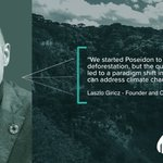 Image for the Tweet beginning: Poseidon is fighting climate change,