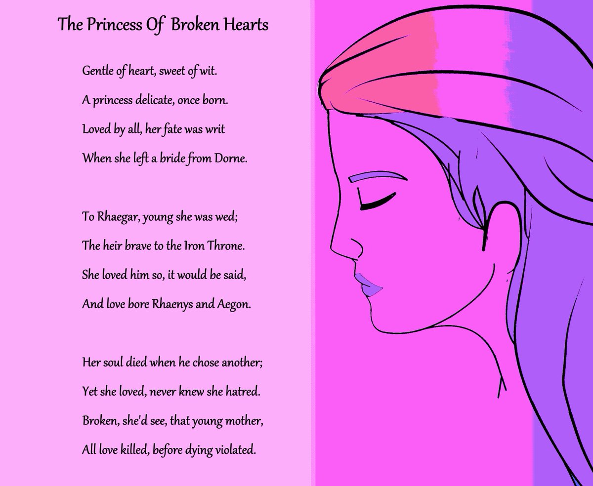A poem for Elia Martell, the princess who knew only to love
