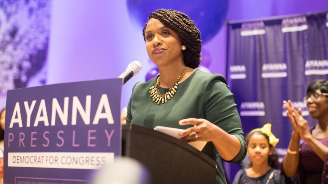 """Do black lives only matter during election years?!""   @AyannaPressley shook the table and gave Democratic Party donors a stern, and much needed lecture about their priorities: https://t.co/yvLDzhnL7t"