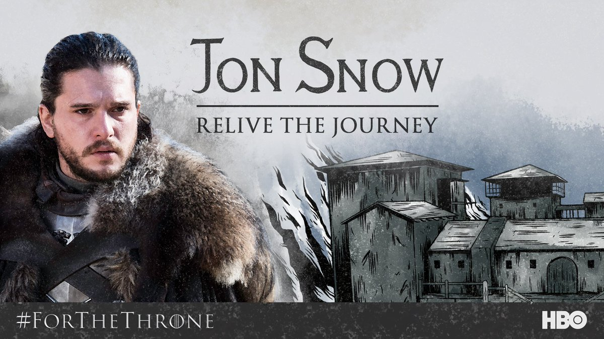 King in the North! Relive Jon's journey with these behind-the-scenes moments from Season 1-7: https://t.co/Q6ijwsG2lD #ForTheThrone