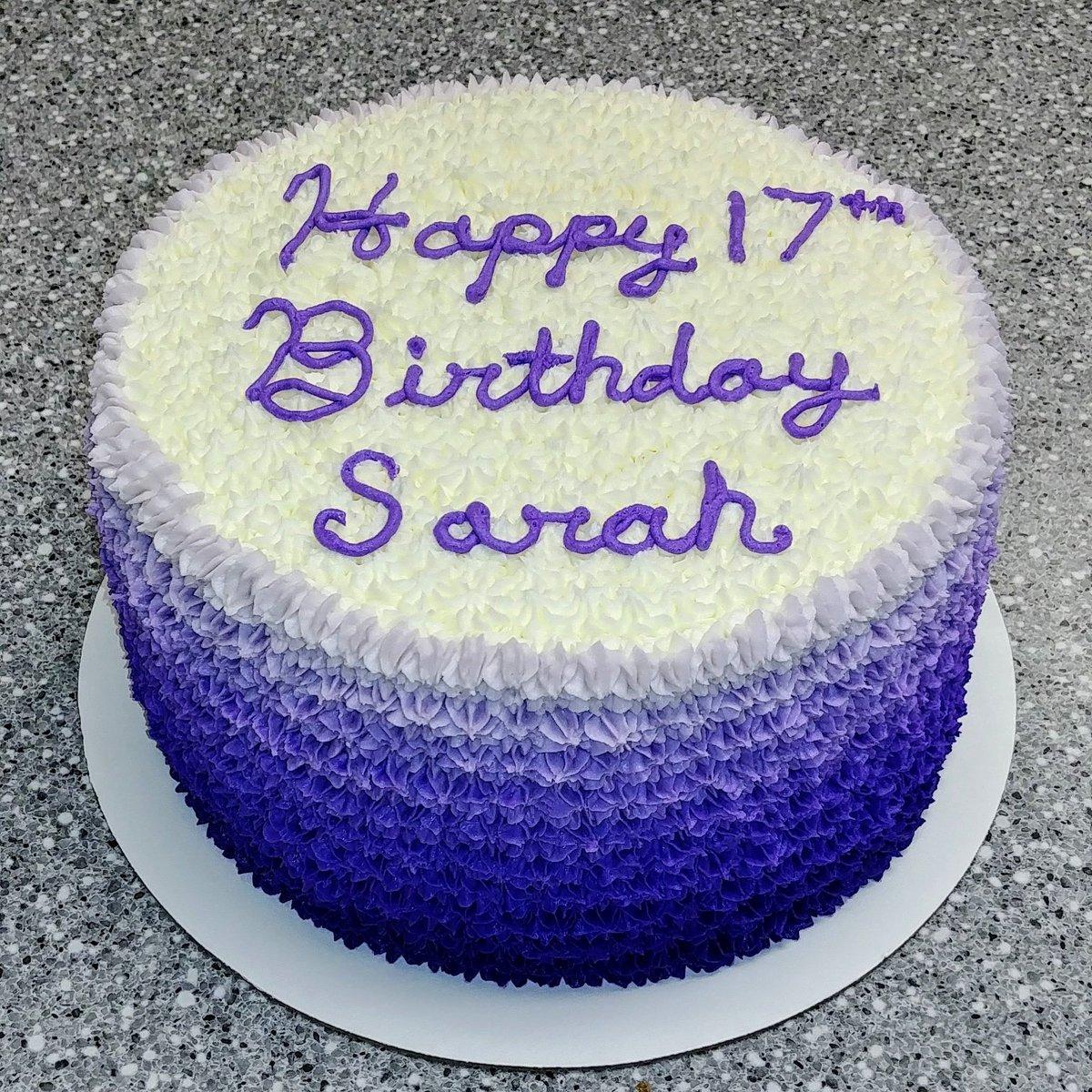 Fantastic Cupcakes By Flea On Twitter Purple Ombre Birthday Cake Cake Funny Birthday Cards Online Necthendildamsfinfo