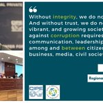 Image for the Tweet beginning: Yesterday, @CIPEAfrica hosted an #anticorruption