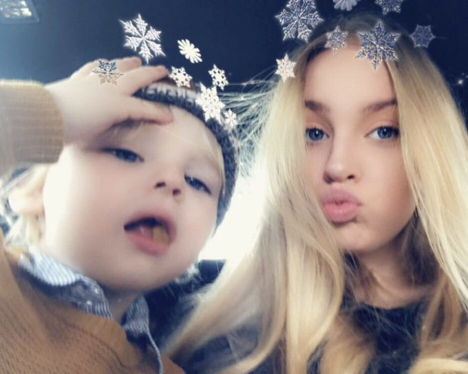 @sebtsb #selfieforseb me and my favourite and only nephew 😻❤️ Photo