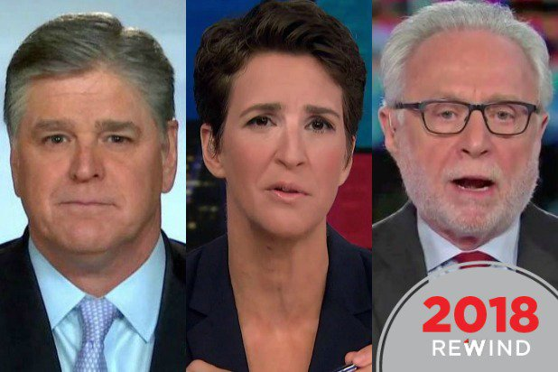 35 Top Cable News Shows of 2018: From @SeanHannity's #Hannity to 'The Situation Room' https://t.co/TcrbHJJCSa
