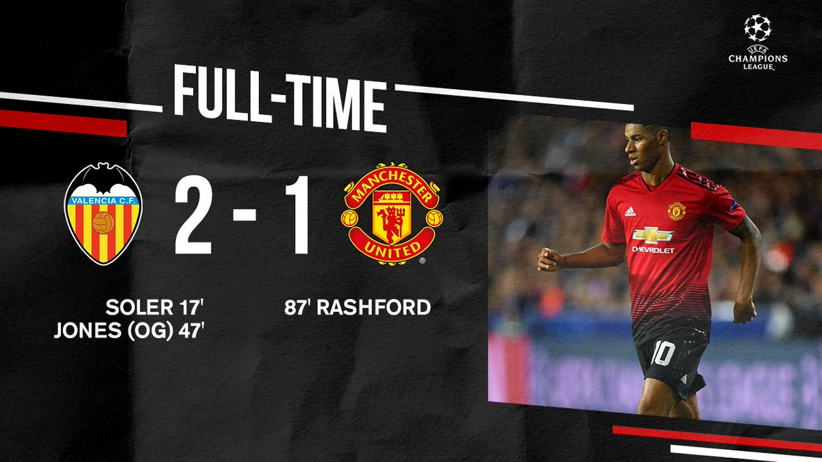 A disappointing result but #MUFC still progress to the #UCL knockout stage.