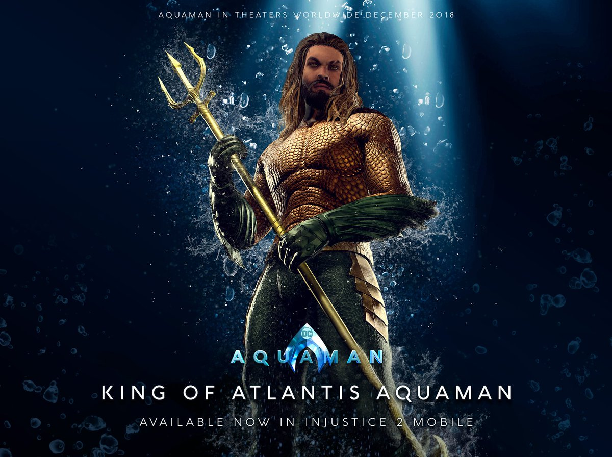 The King of Atlantis has arrived in Injustice 2 Mobile